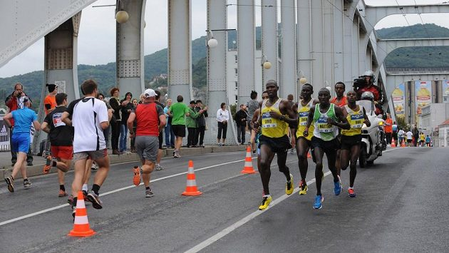 Ústecký půlmaratón se letos běží počtvrté.