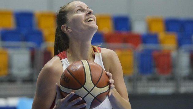 Česká basketbalistka Renata Pudláková.