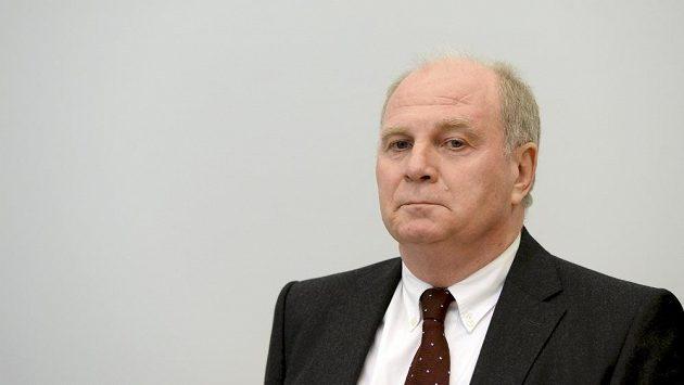 Prezident Bayernu Mnichov Uli Hoeness
