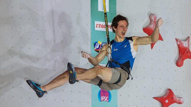 Adam Ondra zvládl kvalifikaci o OH v Toulouse.