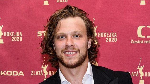 David Pastrňák vyhrál počtvrté Zlatou hokejku. Bude to na h..., řekl pak o dohrávání NHL.