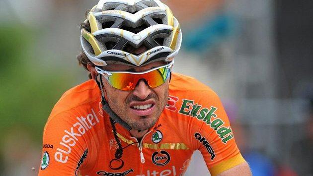 Španělský cyklista Samuel Sánchez