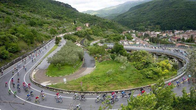 Giro d'Italia, ilustrační snímek.