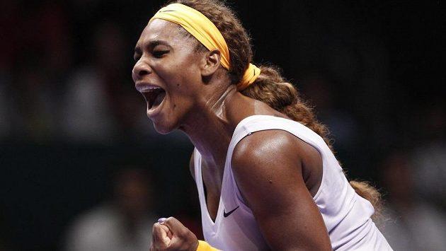 Americká tenistka Serena Williamsová podle očekávání vyhrála Turnaj mistryň.