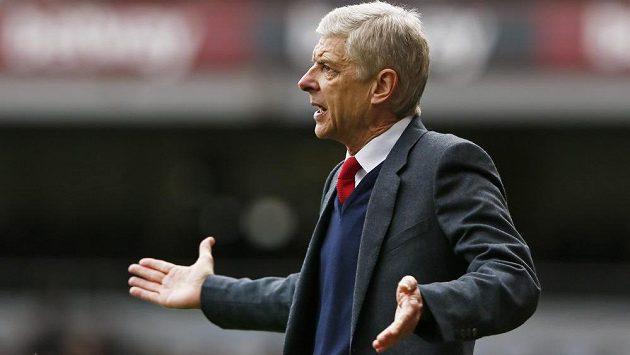 Rozčarovaný Arséne Wenger. Arsenal v dostizích o titul v Premier League ztrácí.