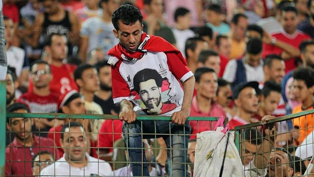 Fotbalový útočník Mohamed Salah je modlou pro egyptské fanoušky.
