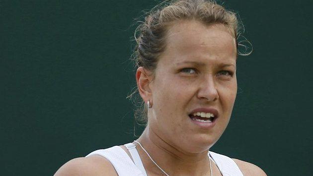 Barbora Záhlavová-Strýcová je poprvé ve čtvrtfinále Wimbledonu.
