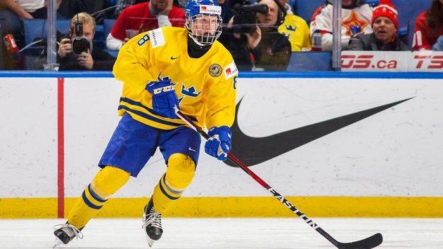 Nadaný ofenzivní bek Rasmus Dahlin takřka jistě spojí svou zámořskou kariéru s organizací Buffala Sabres.