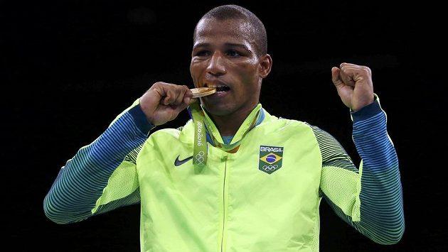 Robson Conceicao je prvním brazilským olympijským šampiónem v boxu.