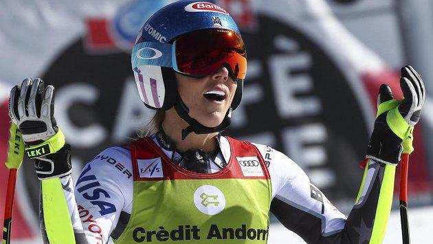 Mikaela Shiffrinová získala ve Světovém poháru poprvé malý křišťálový glóbus za superobří slalom.