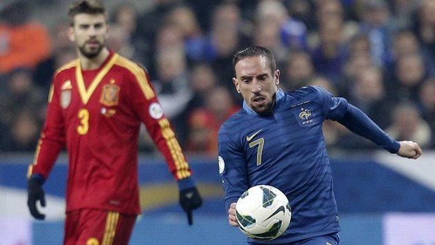 Franck Ribéry odehraje v Brazílii svůj poslední světový šampionát v dresu francouzské reprezentace.