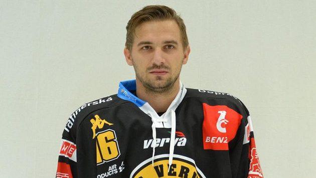 Litvínovský hokejista František Lukeš.