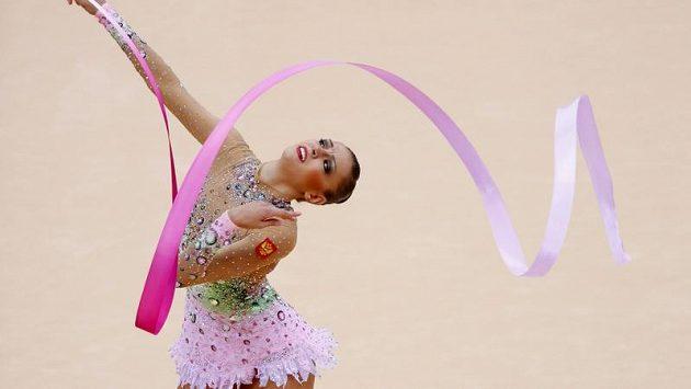 Ruska Jevgenija Kanajevová, vítězka olympijského víceboje
