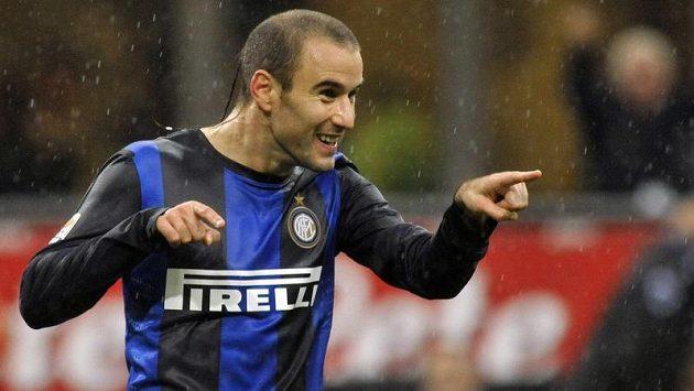 Argentinský útočník Rodrigo Palacio z Interu Milán