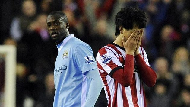 Hráči prvního City prohráli se Sunderlandem gólem v nastavení.
