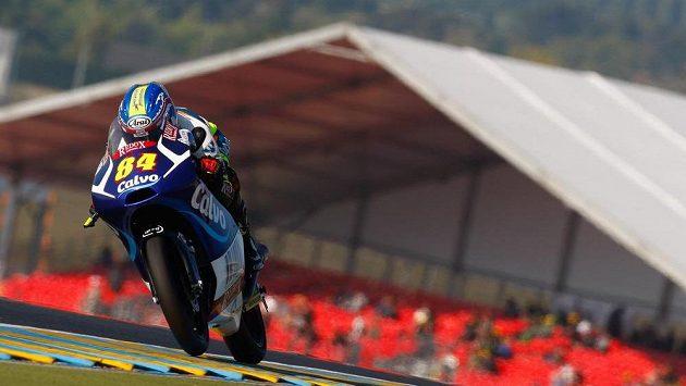 Český motocyklista Jakub Kornfeil dojel na Velké ceně Francie desátý.