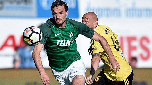 Jablonecký střelec Martin Doležal rozhodl zápas s Karvinou a oslavil tak narození syna.