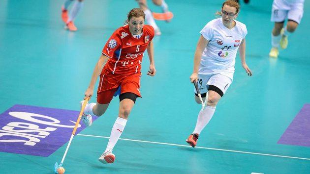 I na Elišku Krupnovou (vlevo) bude český tým spoléhat v semifinále se Švédskem.