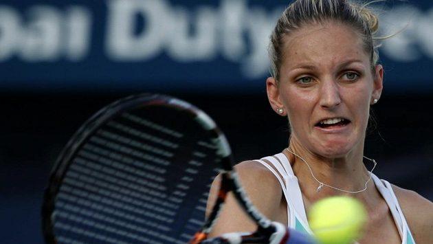 Karolína Plíšková postoupila na turnaji v Dubaji už do semifinále.