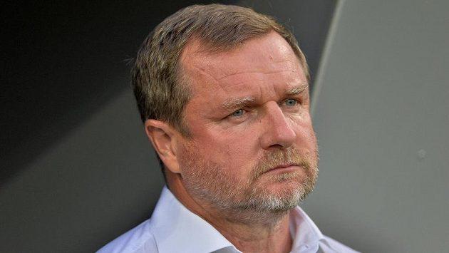 Trenér Plzně Pavel Vrba.