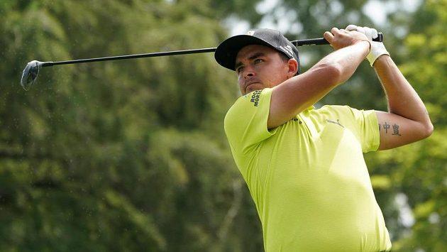 Americký golfista Rickie Fowler na PGA Championship.