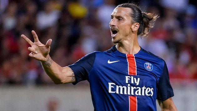 Zlatan Ibrahimovic to má v PSG nahnuté, z francouzské metropole by rád odešel.