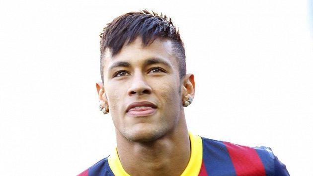 Nová posila Barcelony Neymar.