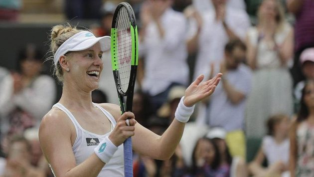 Americká tenistka Alison Riskeová si ve Wimbledonu poradila se světovou jedničkou Ashleigh Bartyovou.