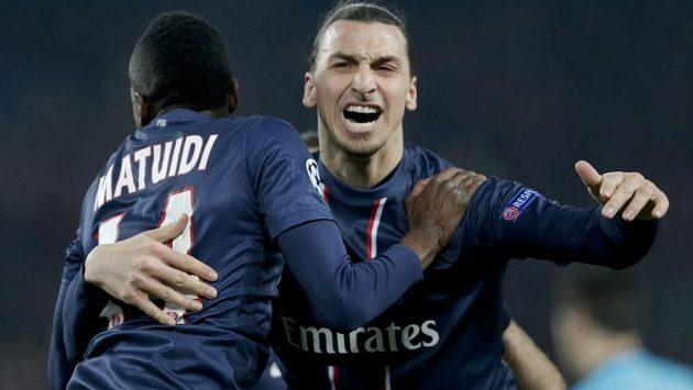Zlatan Ibrahimovic a Blaise Matuidi z PSG svými trefami připravili favorizovanou Barcelonu o výhru.