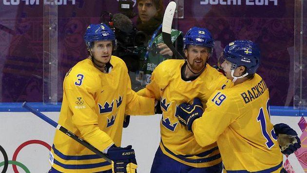 Švédští hokejisté nastoupí v olympijském finále proti Kanadě, které budou rozhodovat kanadští sudí.
