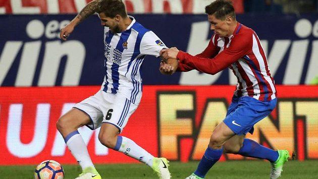 Fotbalisté Atlétika Madrid ve 30. kole španělské ligy doma zdolali San Sebastian 1:0, zvítězili popáté za sebou a upevnili si třetí místo v tabulce.