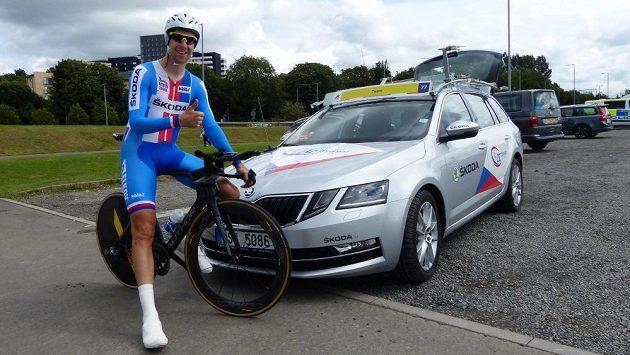 Cyklista Josef Černý (ilustrační foto)