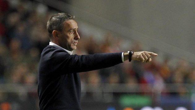Kouč portugalského fotbalového týmu Paulo Bento během utkání se Švédskem.