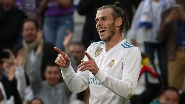 Fotbalisté Realu Madrid měli v duelu protu Celtě Vigo pořádně nabito. Jeden z gólů slaví Gareth Bale.