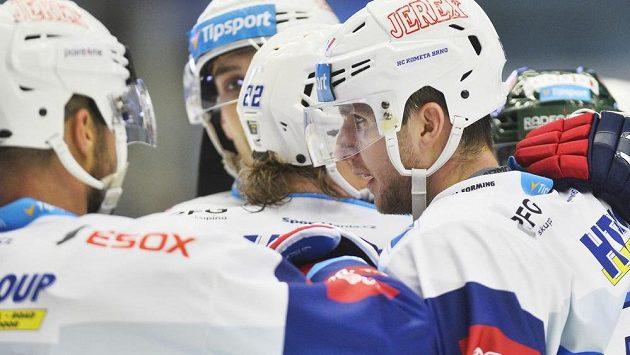 Gólová radost hokejistů Komety.