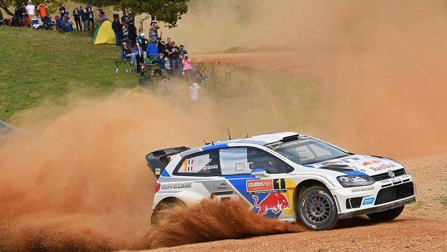 Sébastien Ogier během Australské rallye.