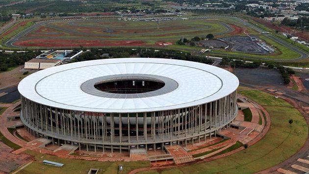 Garrincha National Stadium v Brasilii. Ilustrační snímek.