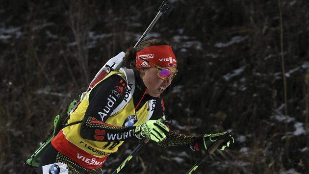 Suverénka letošní sezóny Laura Dahlmeierová míří za velkým křišťálovým glóbem.