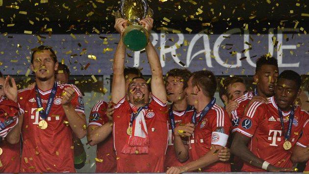 Bayern Mnichov - letošní vítěz Superpoháru.