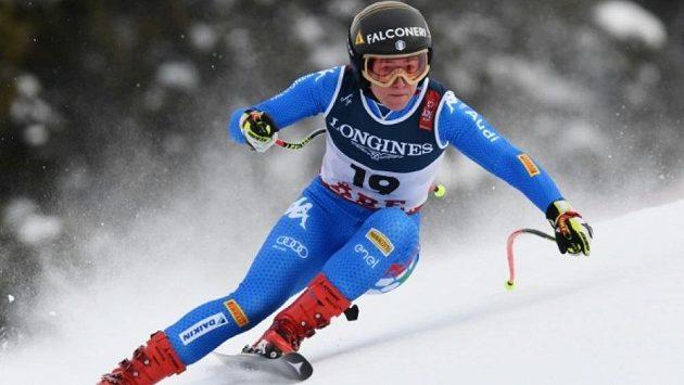 Olympijská šampionka ve sjezdu Sofia Goggiaová.