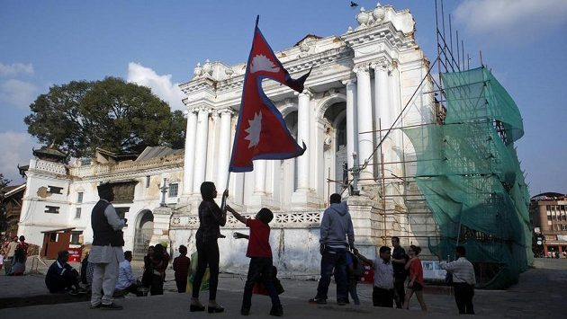 Centrum Káthmándú, ilustrační snímek.
