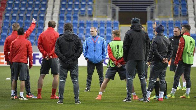 Fotbalisté Plzně se chystají na duel s Astrou Giurgiu.