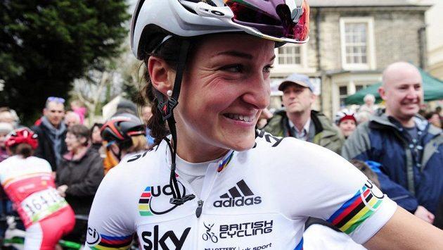 Britská cyklistka Lizzie Armitsteadová se může těšit na olympijský závod.