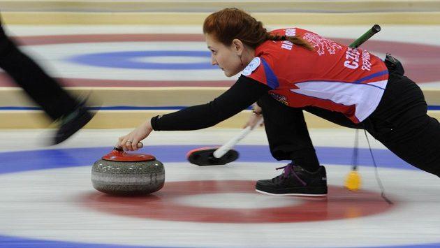 Zuzana Hájková na archivním snímku během světového šampionátu juniorů.