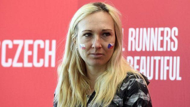 Česká vytrvalkyně Eva Vrabcová Nývltová před sobotním Pražským půlmaratónem.