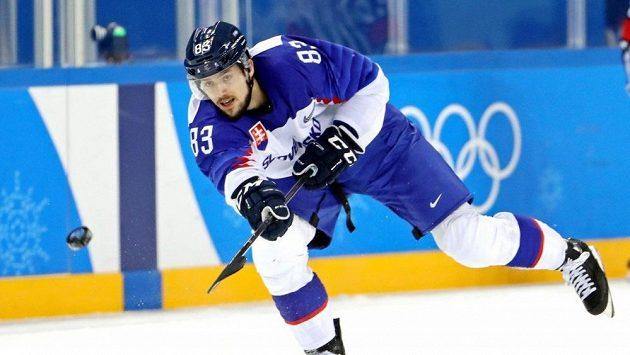 Slovenský hokejista Martin Bakoš