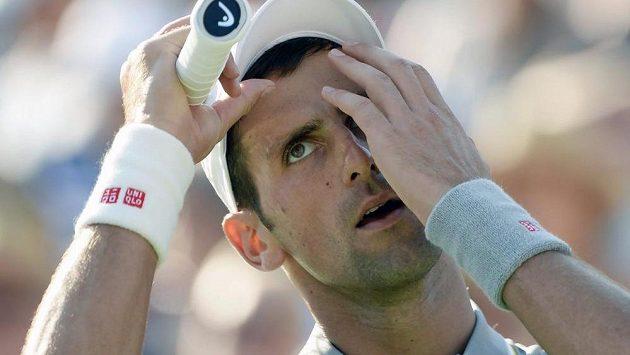 Nevěřícná reakce Novaka Djokoviče v montrealském finále proti Andymu Murraymu.