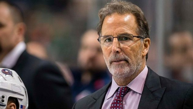 Trenér hokejistů Columbusu John Tortorella.