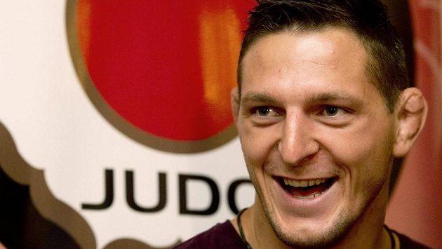 Judista Lukáš Krpálek před cestou na mistrovství světa.