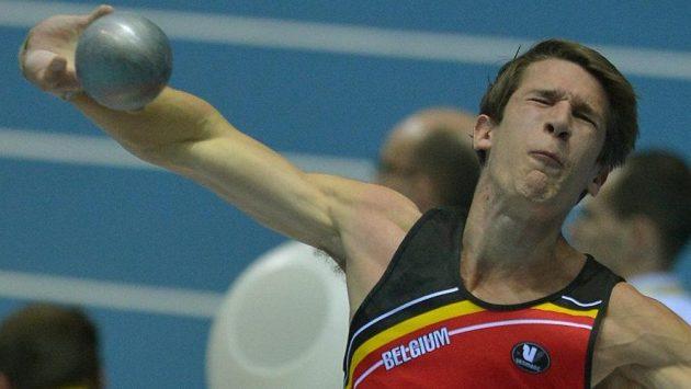 Belgický vícebojař Thomas van der Plaetsen.